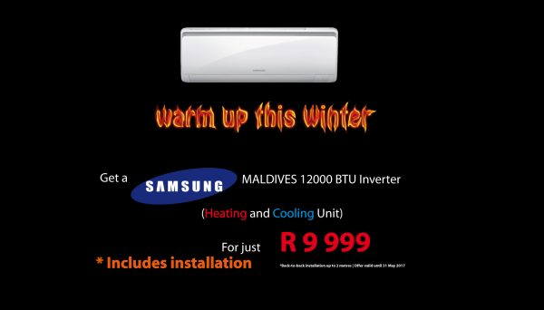 Winter Warmers Promotion